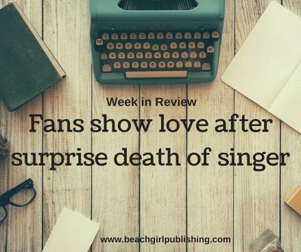 Fans show love after surprise death of singer